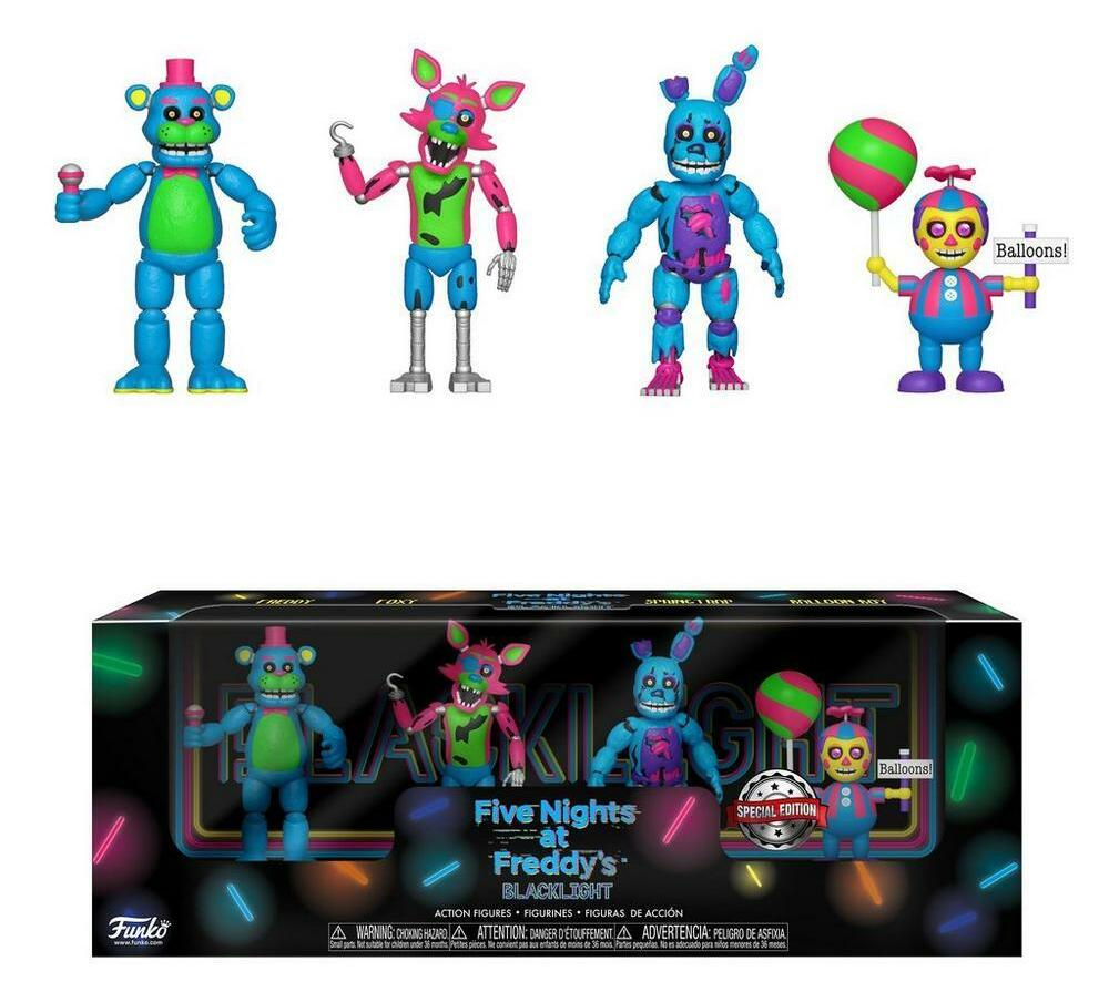 Blacklight 2 inch Figure 4 Pack - Set 2