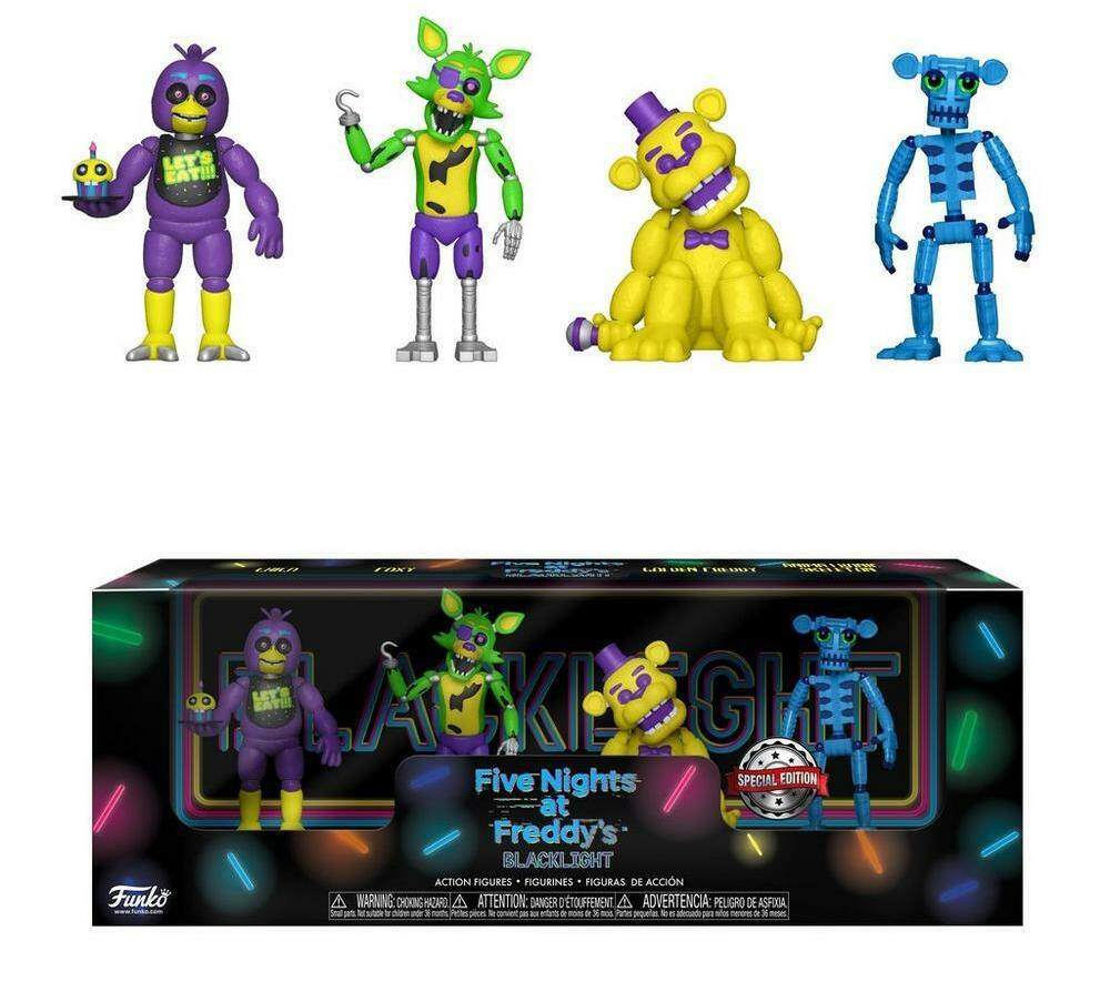 Blacklight 2 inch Figure 4 Pack - Set 1